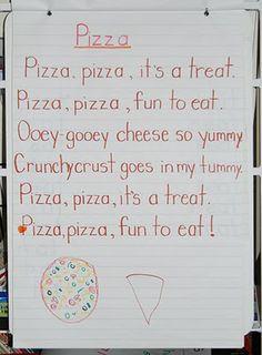 kindergarten pizza poem - Google Search | Book Cook | Pinterest ...
