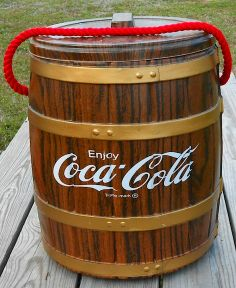 Coca-Cola Barrel Cooler, This was a specialty item created for the Cola Clan back in the early 80's......