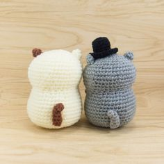 Cat Couple Amigurumi Pattern