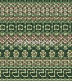 Knitted seamless pattern in fire isle style — Stok Vektör © galagalina19.gmail.com #98285002