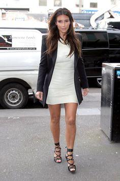 Kim Kardashian love the dress and jacket