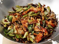 Cantonese Chicken and Mushrooms from #FNMag #myplate #veggies #protein