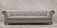 Restorating Hardware Cambridge Upholstered Sofa.