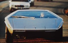 1972 Maserati Boomerang Concept Freeway Test