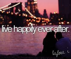 my own version of happily ever after...