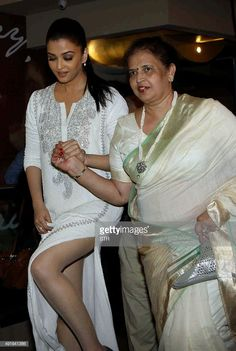 Indian Bollywood actress Aishwarya Rai Bachchan , with her mother, attends the special screening of the Hindi film 'Jazbaa' directed by Sanjay Gupta in Mumbai on October Get premium, high resolution news photos at Getty Images Bollywood Actress Hot Photos, Indian Actress Hot Pics, Indian Bollywood Actress, Beautiful Bollywood Actress, South Indian Actress, Bollywood Celebrities, Bollywood Fashion, Indian Actresses, Bollywood Bikini