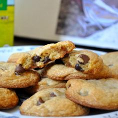 Easy choc chip cookies