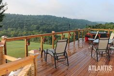 Atlantis Cable Railing SC combines the natural beauty of wood with the streamlined look of patented RailEasy™ fittings and cable. Deck Railing Systems, Deck Railing Design, Deck Design, Railing Ideas, House With Balcony, House Deck, Metal Railings, Deck Railings, Stainless Steel Cable Railing