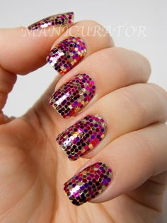 manicurator: Holidays Ornament Nail Art - Let it Snow Challenge
