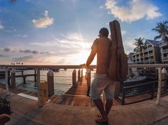 @leoeymard came all the way from #Brazil to enjoy a #KeyWest #sunset on this #TravelTuesday!  Where are you heading next? Share your travels with us via link in bio! #GoPro by gopro
