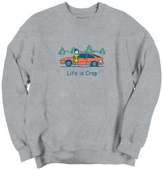 Flat Tire Sweatshirt