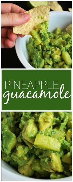 Pineapple Guacamole: Tart, sweet, and full of flavor, this gluten free and vegan guacamole is the perfect addition to any summer picnic!    fooduzzi.com