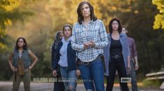 New Photos From 'The Walking Dead' Time Jump Released Walking Dead Quotes, Walking Dead Season 9, Fear The Walking, Dead Still, Movie Co, Free Tv Shows, African American Weddings, Lauren Cohan, Baby Health
