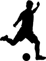 soccer player clipart templates silhouettes pinterest soccer rh pinterest com soccer player clipart png soccer player clip art silhouettes