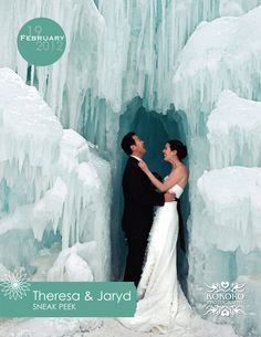 Frozen wedding photos
