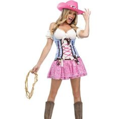 Pin On Cowgirl Costume A Sexy Idea For Halloween