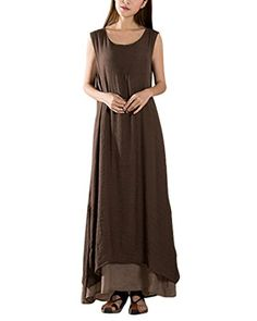 ZANZEA Ladies Cotton Linen A-line Split Hem Baggy Long Ma... https://www.amazon.com/dp/B01F6O86E6/ref=cm_sw_r_pi_dp_x_9j3Xzb1CAK3GH