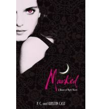 Marked by P.C and Kristin Cast. Book one in the house of night series, another teen vampire series, what can i say, i like them!