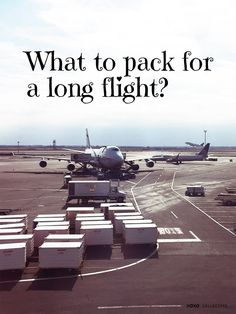 What to pack for a long flight? XOXO Collective has the answers