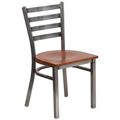 Create a first-rate dining experience by offering your patrons #great food, service and attractive furnishings. This one of a kind clear framed chair will highli...