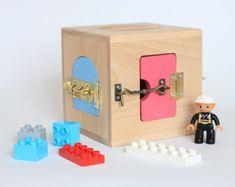 Occupato bordo, bordo di attività, scheda sensoriale, Montessori giocattoli educativi, giocattoli di legno, occupato in scatola, giocattoli del bambino, montessory