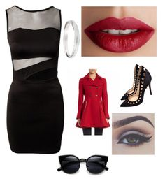 """""""Idk"""" by cj2001design on Polyvore featuring TheBalm, Laundry by Shelli Segal, Bellezza and Gianvito Rossi"""