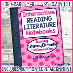 Interactive Grammar Notebooks for Grades 4-8 Click here to purchase!  Each lesson includes a photo of the completed activity, complete step-by-step instructions, all notes for writing on/in templates, and student activity pages to run off.