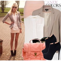 Cute, I am so into blazers right now!