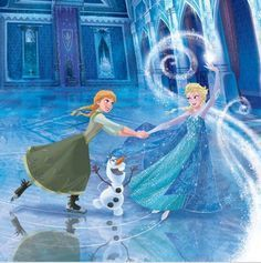 frozen ice skating party - Google Search