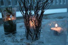 hemma hos Johanssons: DIY lodowe latarenki vinter islykta, icelantern with wonderful winter feeling