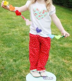 BeingBrook: No pattern pants {no hemming either!}