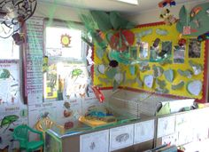 Minibeast research role-play area classroom display photo - Photo gallery - SparkleBox