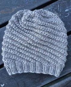 Almas mössa Mens Hat Knitting Pattern, Baby Knitting, Knitted Animals, Knitted Hats, Hats For Men, Diy Clothes, Autumn Winter Fashion, Knit Crochet, Sewing