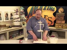 Motorized Spinning Cake Stand