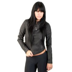 Vans Greased Girls Jacket Black