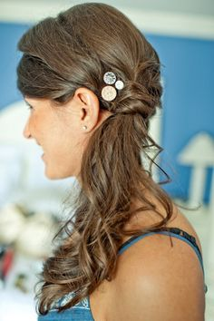I'm growing my hair so I can wear this at my wedding :)