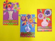 In the Art Room: Folk Art Still Life Inspired by Kerri Ambrosino