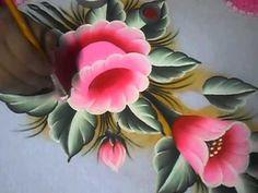 Vida com Arte | Pano de Copa com Rosas por Fátima Hespanholeto - 21 de Maio de 2014 - YouTube