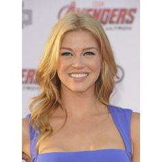 Adrianne Palicki At Arrivals For The Avengers Age Of Ultron Premiere Canvas Art - (16 x 20)