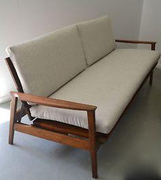 Retro Vintage Fler DAY Night Lounge Sofa Danish Eames ERA Midcentury in NSW | eBay