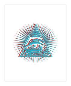 Eye Of Providence - 3D Art Print