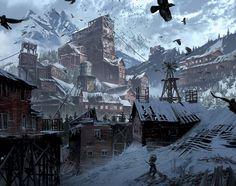 Rise of the Tomb Raider - Yohann Schepacz - Village