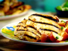 Easy Grilled Honey-Dijon Chicken Recipe : Sunny Anderson : Food Network - FoodNetwork.com