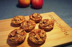 koolhydraatarme appel muffins - flowcarbfood.nl