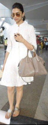 Deepika Padukone is rocking this Chikan Embroidery Dress