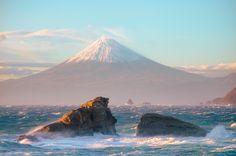 fujiー雲見海岸より