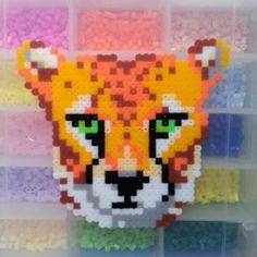 Lion perler beads by rabbitprincess0213