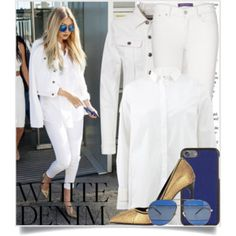 Bright White: Summer Denim - Gigi Hadid