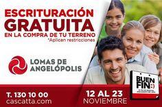 #LomasdeAngelópolis sigue con el Buen Fin!! Tiene para ti la mejor promoción!!  #buenfin #1301000