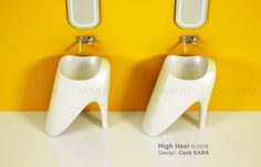 Bathroom Sink Design, Washbasin Design, Kara, High Heels, Concept, High Heeled Footwear, Shoes Heels, High Heel, Shoes High Heels